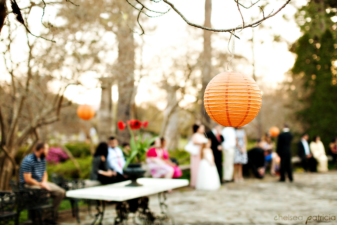 reception 01 Jasmine Hill Garden Wedding: Karen + Jerrys Orange, Ivory, & Champagne Spring Wedding