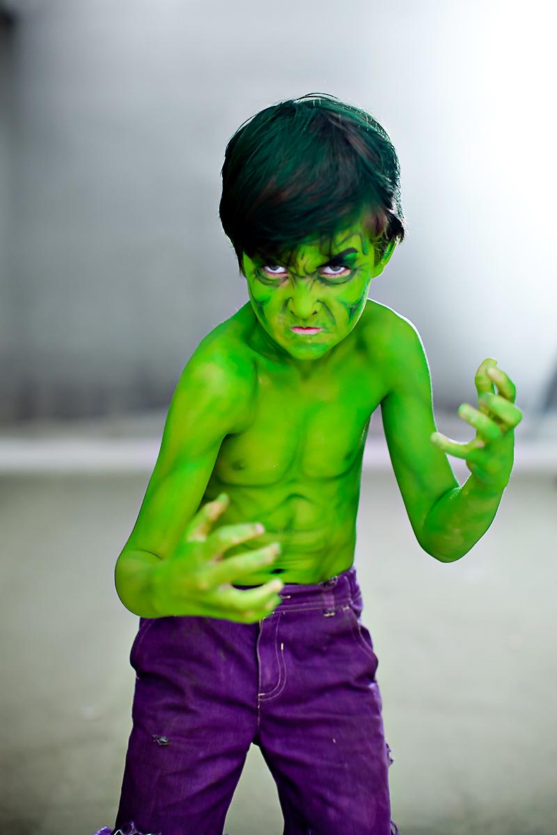 The Incredible Hulk Kid at Dragon*Con 2011, Atlanta ...