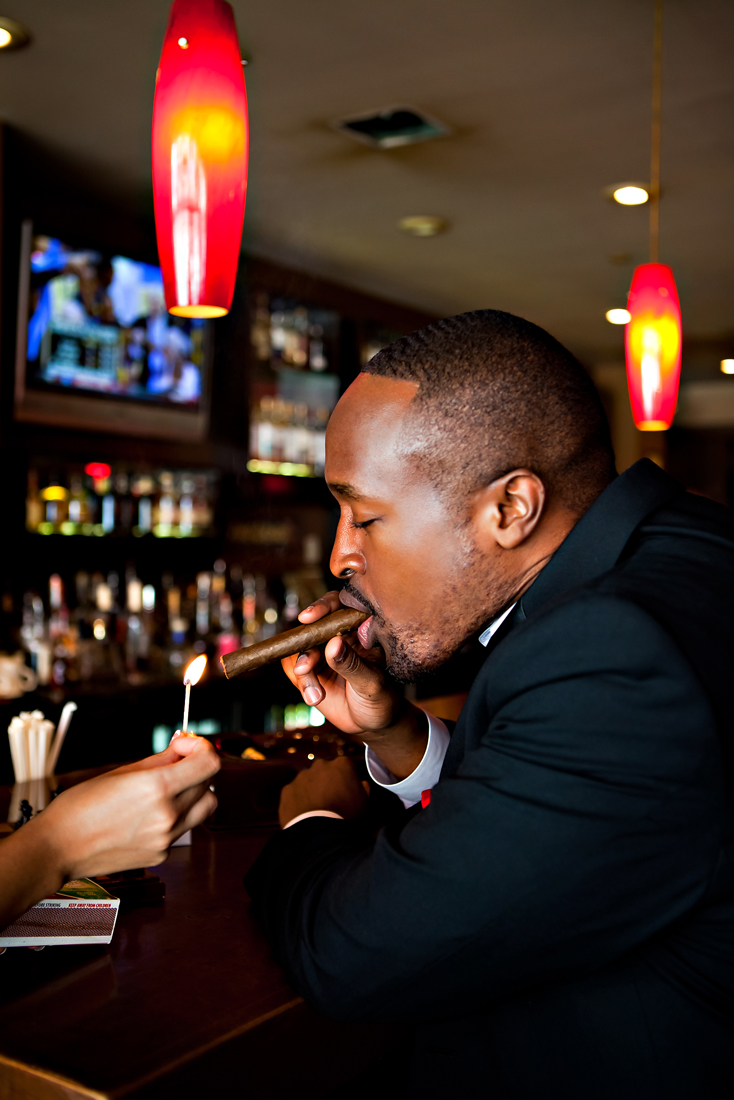 MG 1117 1692904883 O Sexy Cigar Bar Engagement: Tiffany + Bobby