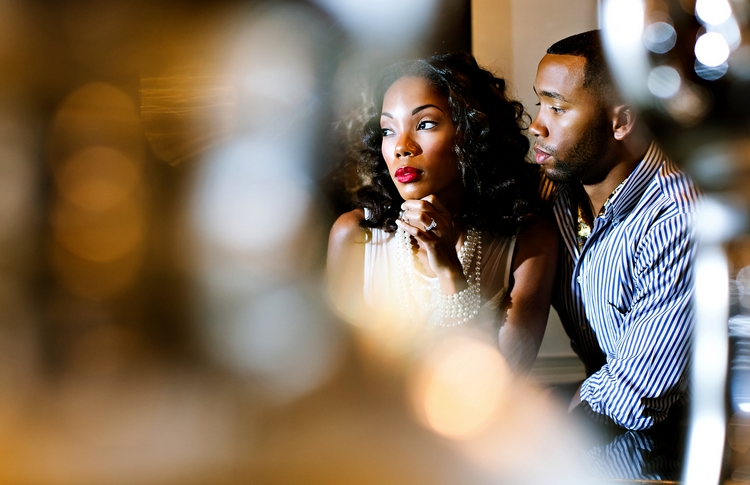 artistic engagement photos Ritz Carlton Atlanta