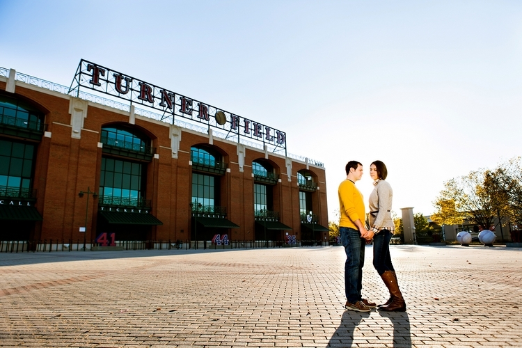 atlanta photography shoot at turner field