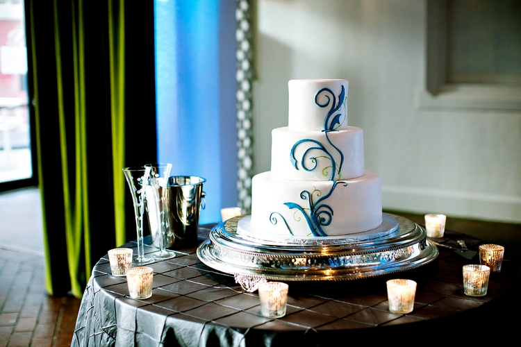 wedding cake by buckhead bakehouse in atlanta