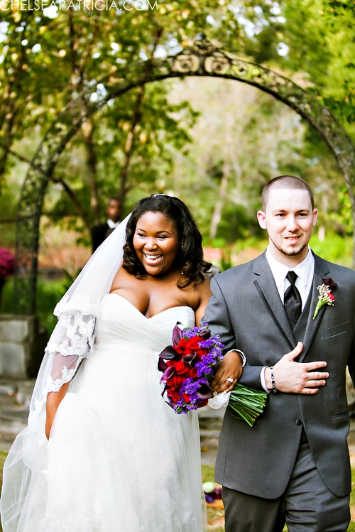 wedding ceremony at jasmine hill gardens in wetumpka al