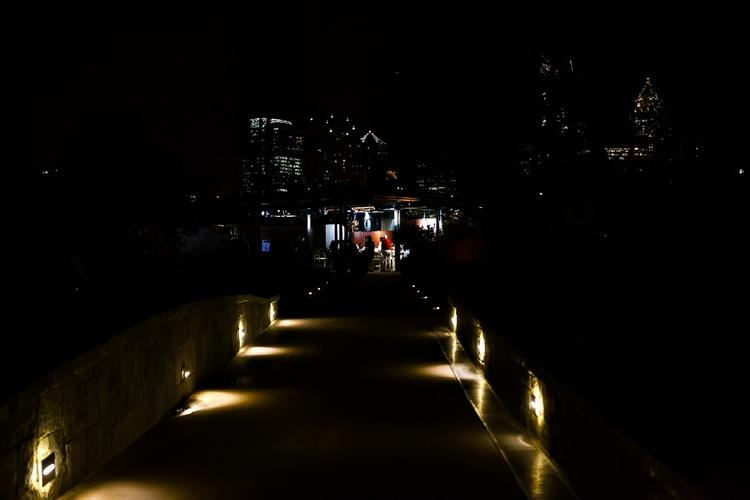 night photos of atlanta botanical garden