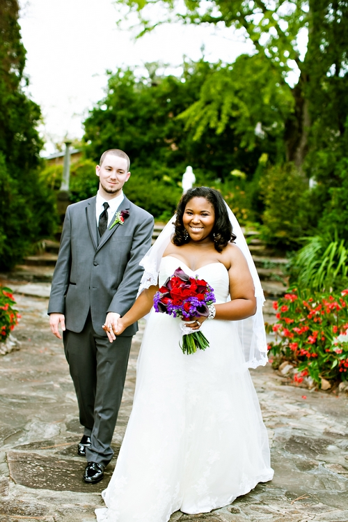 bride and groom at jasmine hill wedding montgomery al