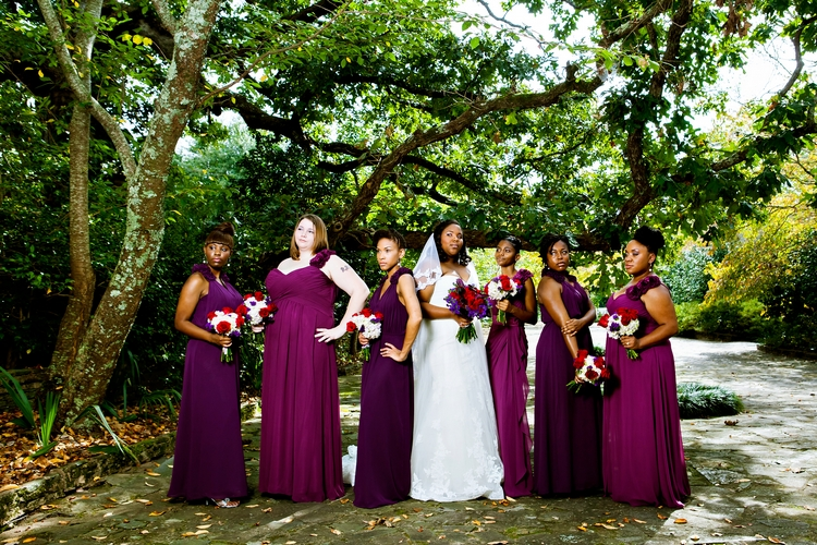top model bridesmaids
