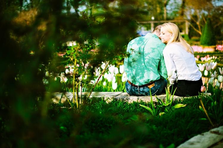 artistic atlanta engagement photos