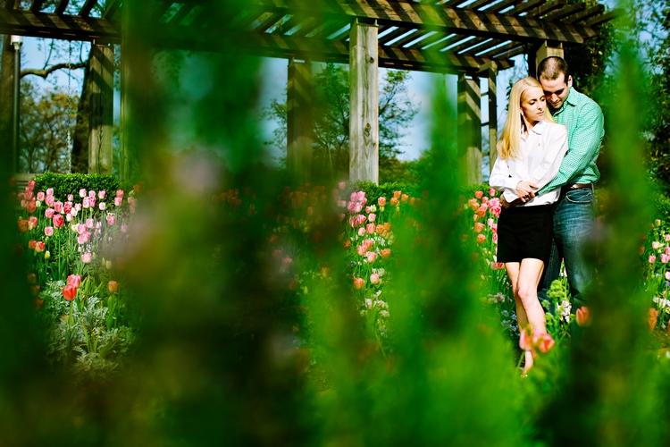 artistic engagement photos at the atlanta botanical garden