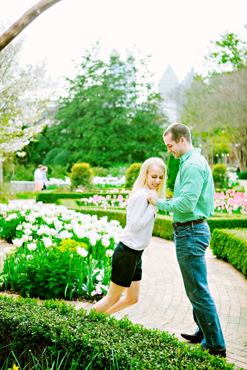 real engagement photography in atlanta