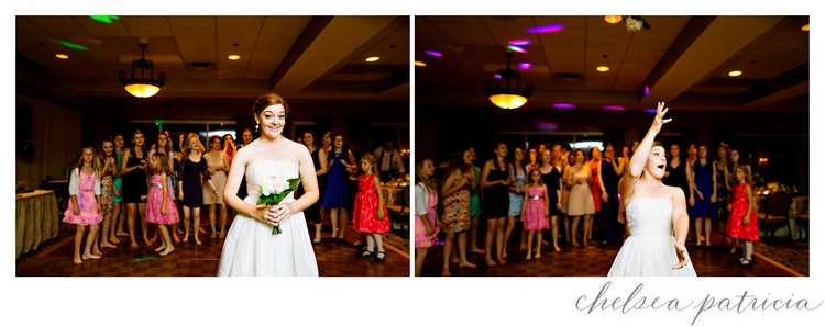 bouquet toss_Atlanta National Golf Club wedding