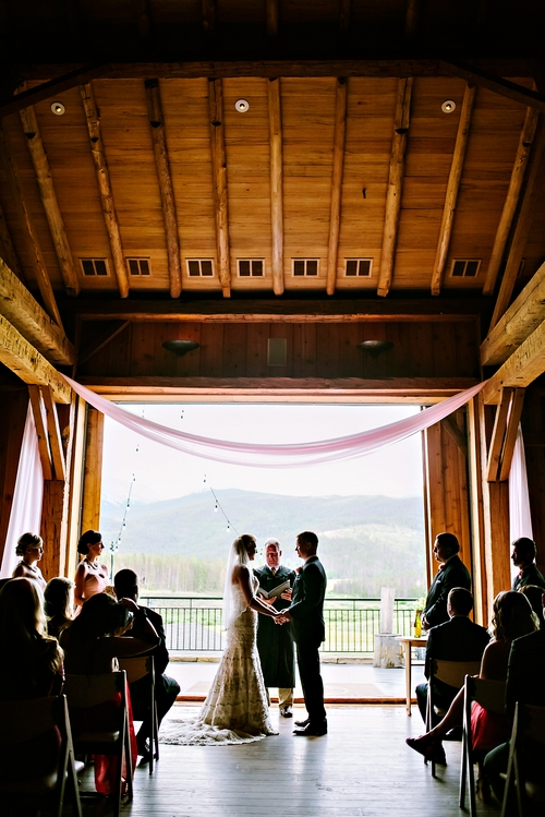 wedding photographers colorado devil's thumb ranch