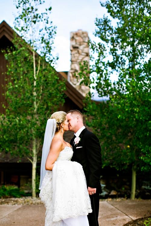 romantic wedding photography colorado