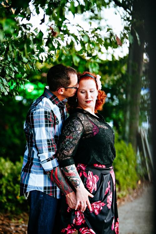 artistic wedding photography atlanta little five points engagement